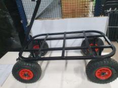 Medium dog cage trolley