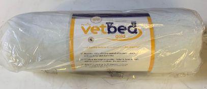 5 x Petlife vet bed gold Mattress