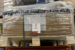 Pallet of Exporta dunnage fast flow air bags