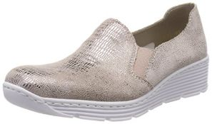Rieker Women's 587B0 Loafers, Beige (Ginger 62), 6 UK 6 UK Women's 587B0_62 |4059954997962