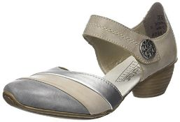 Rieker Women's 43790-40 Mary Janes, Beige 40, 3.5 UK 36 EU 3.5 UK Women's 43790-40_40 |4059954415329