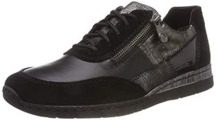 Rieker Women's N5320 Trainers, Black (Black 00), 3.5 UK 36 EU 4 UK Women's N5320-00_00 |405995457305