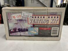 Unbranded cooker hood vent kit