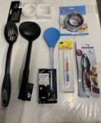 Mixed lot of kitchen accessories