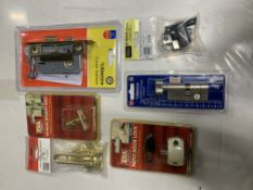 Mixed lot of Security locks/catches