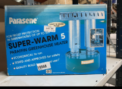 Parasene frost protection heater for greenhouse