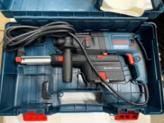 Bosch professional dust extraction hammer drill