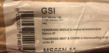 GSi Sapho Panorama MS66N11 Soft Close Toilet Seat