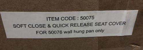 Saneux Austen 50075 Soft Close & Quick Release Toilet Seat