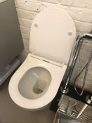 Ex Display Unbranded Soft Close Toilet in White