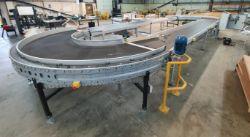 4 Sectional Belt Conveyor/Carousel System   Konica Minolta C1060 Commercial Digital Printing Press