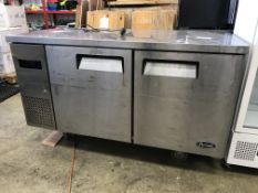 Atosa 2 Door Stainless Steel Refrigerated Counter Unit | YOM: 2013