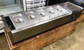 Cater-Kwik CK3120 Refrigerated Topping Unit