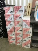 30 x Boxes of Puntzak K21 Disposable Paper Cones in Red/White