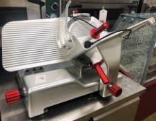 SURESLICE SSG350SSAE Professional Gravity Feed Meat Slicer | 240v