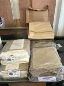 4 x Packs of Various Greaseproof Paper Bags