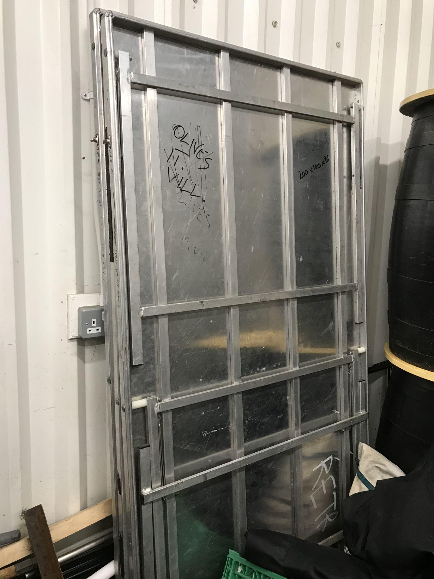 Lot 58 - 3 x Aluminium Collapsible Tables | 200cm x 100cm x 81cm
