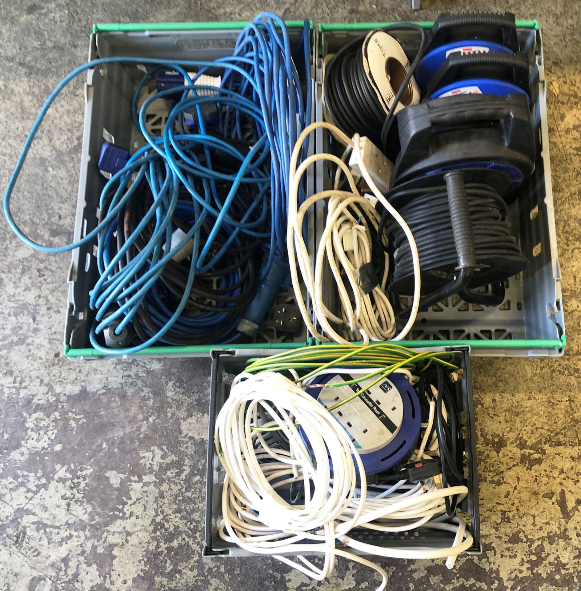 Lot 72 - Mixed Lot of Extension Leads & Plugs - As Pictured
