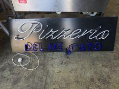 Pizzeria Sign | 154cm x 50cm | Advised to be broken