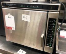 Menumaster Jetwave 5192 High Speed Oven | YOM: 2017