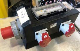Rubber Box Co RUB185H3 63 AMP Power Distribution Box