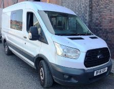 White Ford Transit 350 Econetic Tech Panel Van | Reg: BF16 XSY| 7 Seater | Mileage: 46,808