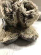Luxury Memory Foam Slipper Boots. Small