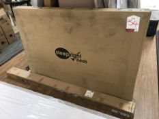 BNIB Hudson 5'0 Oak King Size Bed Frame | 214cm x 160cm x 110cm