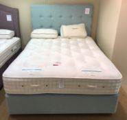 Ex Display Harrison Wisley 18200 King Size Mattress - Gentle/Medium w/ True Edge 2500 Divan Set & He