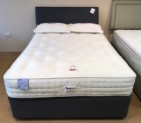 Ex Display Relyon Derwent Natural Pashmina 2400 Firm Edge King Size Mattress w/ 2 Drawer Bed Frame &