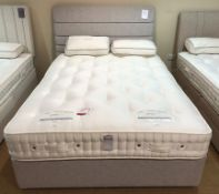Ex Display Harrison Lima 7200 King Size Mattress w/ Deep Set Gentle/Medium Tension & Headboard in La
