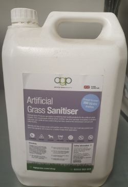Online Auction | Artificial Grass Sanitizer/Cleaner | Line Marking Paint | Ends Thursday, 16 July 2020