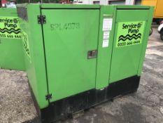 "Hidrostal Betsy 4"""" Sewage & Dirty Water Solids Handling Pump | Ref: A003"