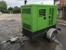 "Godwin CD150M 6"""" Diesel Drainer Pump w/ Meredith & Eyre Trailer | Ref: A023"