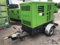 "Godwin CD150M 6"""" Diesel Drainer Pump w/ Meredith & Eyre Trailer | Ref: A120"