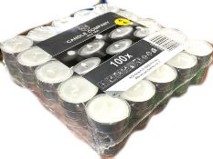 5 x Boxes of Tea Lights by Candle Company