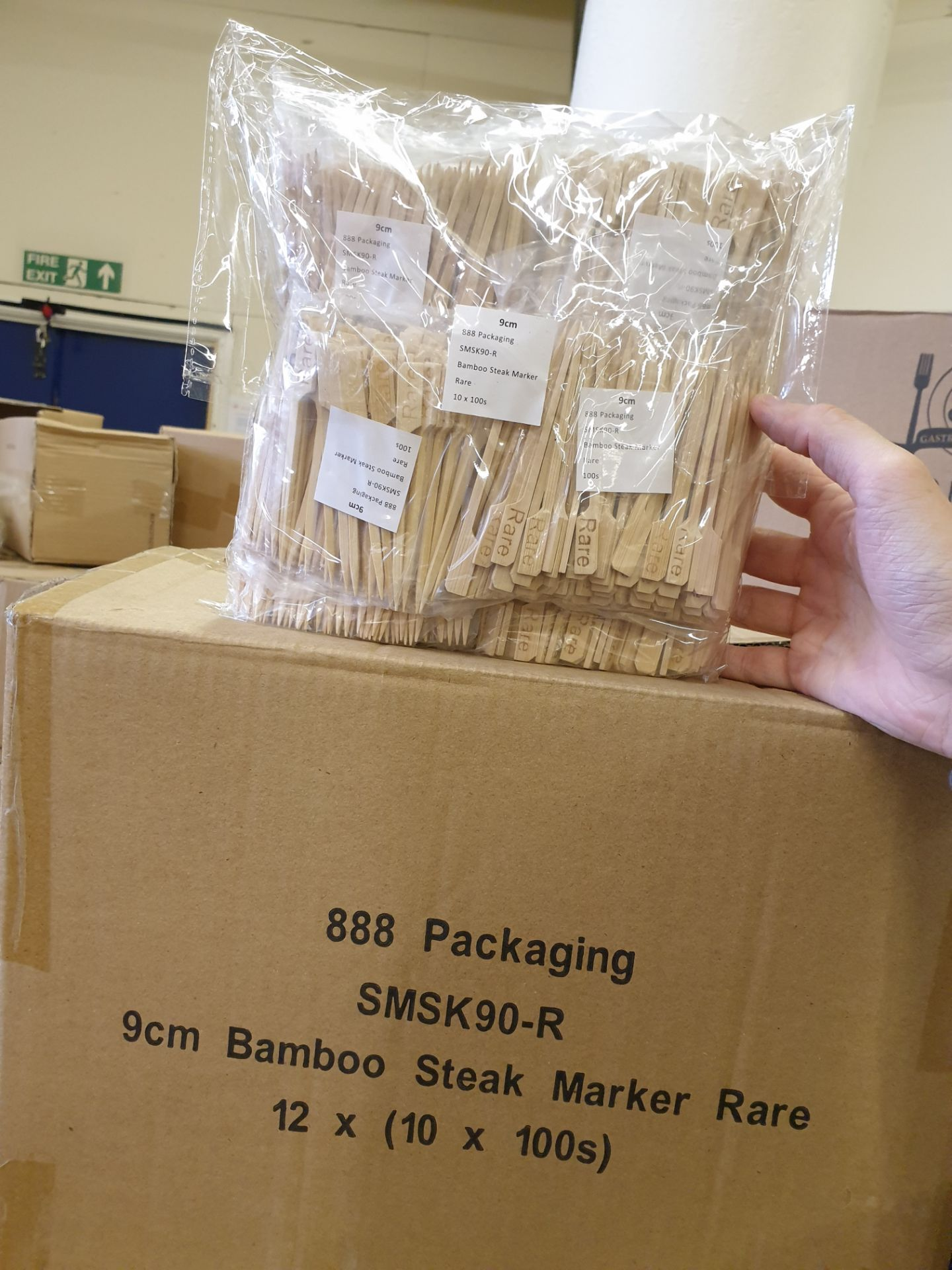 Lot 319 - 5 x Boxes of Steak Makers Rare Bags by 888 Gastro Disposable