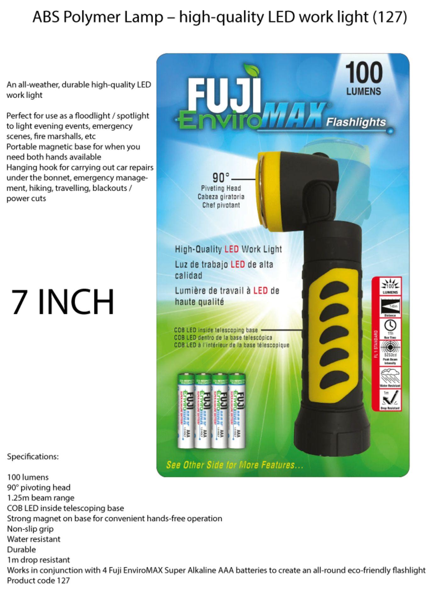 Lot 27 - Fuji EnviroMax 100 Lumens LED Flashlight
