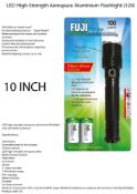 6 x Fuji EnviroMax 100 Lumens LED Flashlight
