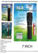 6 x Fuji EnviroMax 150 Lumens LED Flashlight