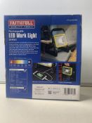 Faithfull 20W Folding Rechargeable Light