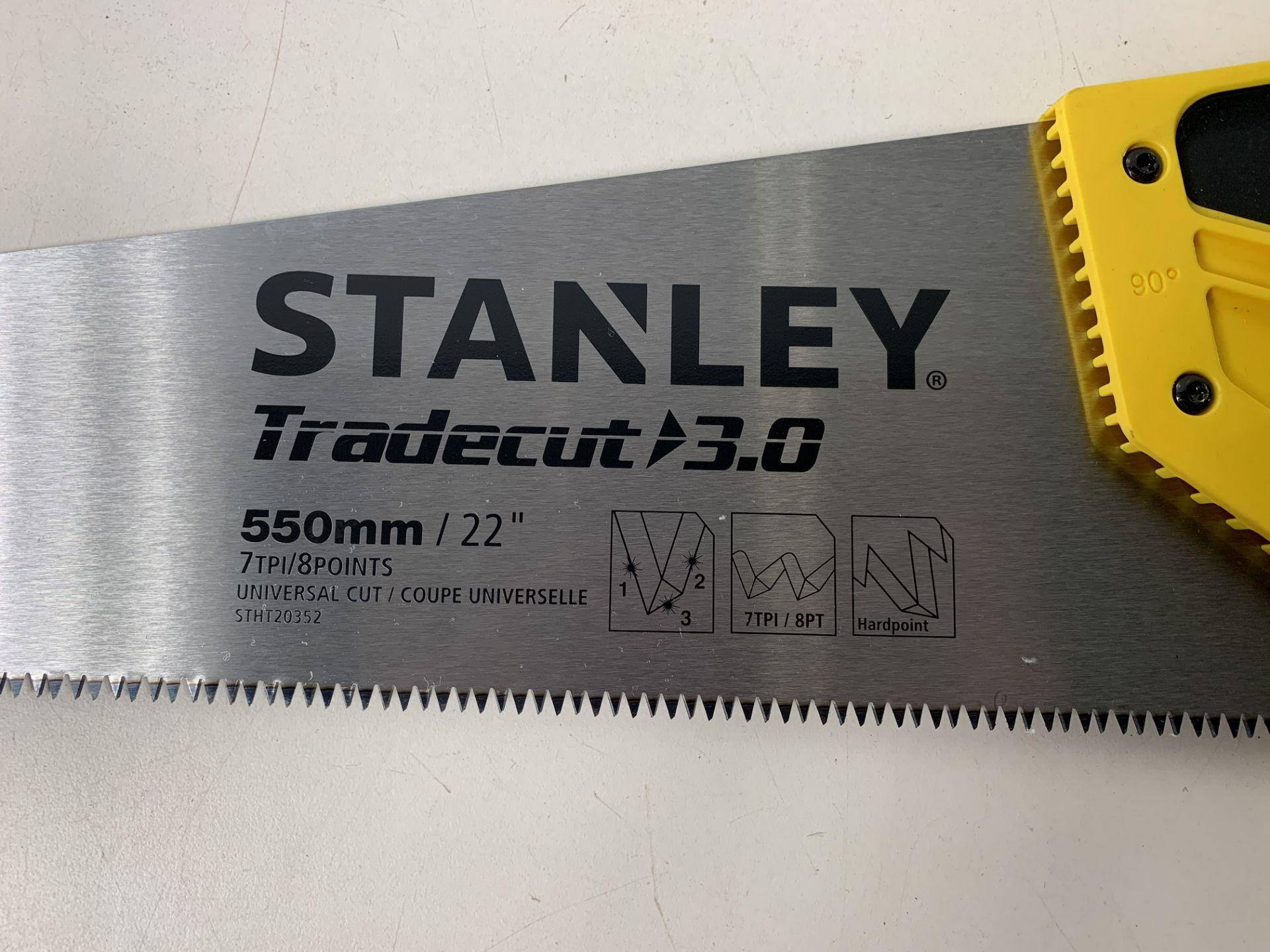 Lot 69 - 4 x Stanley Fatmax 22inch Heavy Duty Saw