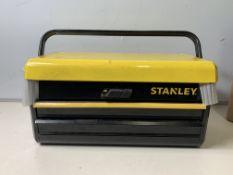 Stanley 2 drawer Metal ToolBox
