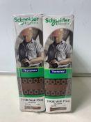 10 x Thorsman TP2 Brown Wall Plug (Box Of 100)
