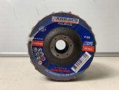 10 x Abracs Non-Woven Flap Discs