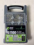 5 x TCD Wood Screw Organiser 1100 Multi-Purpose Pro Wood Screw Kit