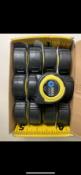 11 x Advent Professional Tape Measure 8m/27ft