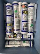 10 x C.T.1 White Unique Sealent & Construction Adhesive