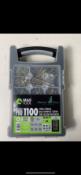 4 x TCD Wood Screw Organiser 1100 Multi-Purpose Pro Wood Screw Kit