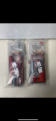 3 x Bessey KR-AS K Body Revo Clamp Tilting Adapter With Bessey TK6 Table Clamp